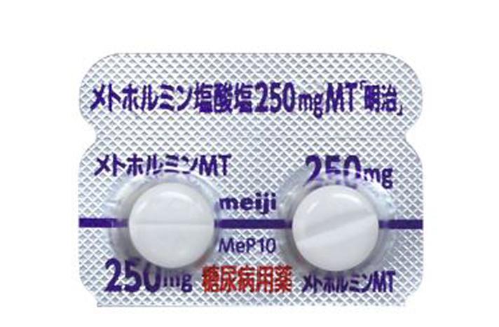 塩 メトホルミン 塩酸 メトホルミン